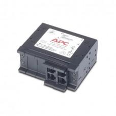 APC шасси на 4 сменных модуля защиты линий передачи данных от импульсных перенапряжений, высотой 1U.
