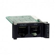 Модуль APC для защиты от всплесков напряжения для аналоговых телефонных линий, заменяемый, 1U, используется со стоечными шасси PRM4 или PRM24