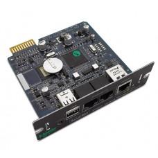 APC AP9631 Плата сетевого управления ИБП с функцией мониторинга параметров среды UPS Network Management Card 2 with Environmental Monitoring