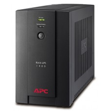 BX1400U-GR ИБП APC Back-UPS 1400 ВА, 230 В, авторегулировка напряжения, евророзетки