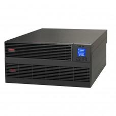 ИБП APC Easy UPS On-Line SRV, 6000ВА, 230В, с комплектом внешних батарей, стоечное исполнение, увеличенное время автономии