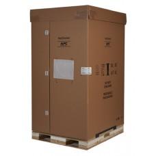 APC AR3100SP Шкаф NetShelter SX 42U шириной 600 мм, глубиной 1070 мм, с боковыми панелями, черного цвета — несущая способность 900 кг. Противоударная упаковка.