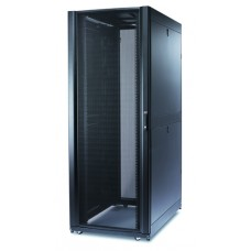 APC AR3180G Шкаф NetShelter SX 42U, ширина 800 мм, глубина 1070 мм, с боковыми панелями, цвет серый RAL7035